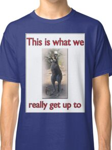 THIS IS WHAT WE REALLY GET UP TO Classic T-Shirt