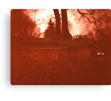 Redscale Road 2 Canvas Print