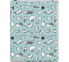Blue Kitties iPad Case/Skin