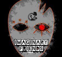 Imaginary F(r)iends - Greeting Card / Post Card by CaseyVenn