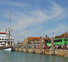Yarmouth Harbour by Jonathan Cox