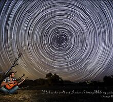 Time-exposure of polar star trails. by PhotoStock-Isra