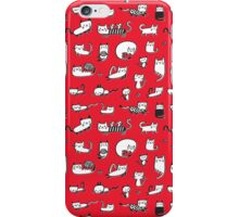 Red Kitties iPhone Case/Skin