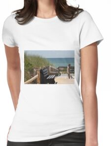 Summer memory Womens Fitted T-Shirt