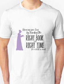 Librarians - Saving Lives Unisex T-Shirt