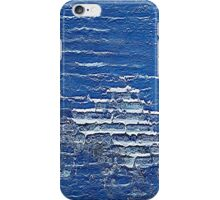 blue abstract iPhone Case/Skin