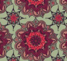 Pink Flower Mandala Sticker