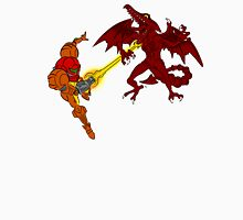 Super Samus Vs Ridley Celtic Colored Unisex T-Shirt