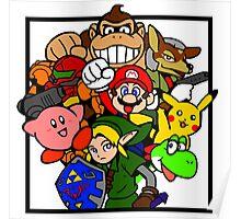 Super Smash Bros 64 Poster