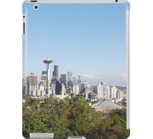 Seattle skyline iPad Case/Skin