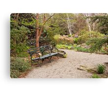 Spring In The Botanic Gardens Canvas Print
