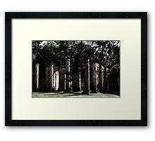 Old Sheldon Church  Framed Print