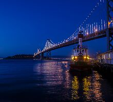 Bay Bridge and Coast Guard by Jake Kauffman