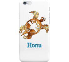 Hawaiian Green Sea Turtle on White iPhone Case/Skin