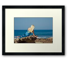 Myths & Mermaids Framed Print