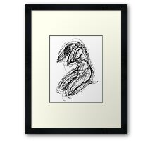 Yoga Humility Framed Print