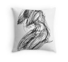 Yoga Humility Throw Pillow
