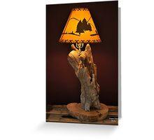 New Series Mountain Lamp Greeting Card