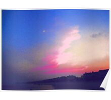 Sunset on the  Isle Of Palms Poster