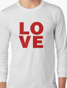 Love Valentines Day Shirts Long Sleeve T-Shirt