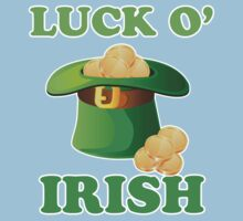 Luck O' Irish St Patricks Day One Piece - Short Sleeve