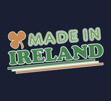 Made In Ireland St Patricks Day Kids Tee
