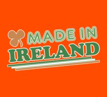 Made In Ireland St Patricks Day Kids Clothes