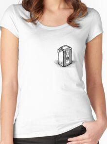 Vintage Kodak Camera Women's Fitted Scoop T-Shirt