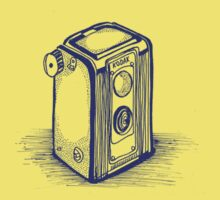 Vintage Kodak Camera by Gabrielle Boucher