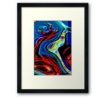 Abstract Framed Print