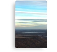 Plateau Blues Canvas Print