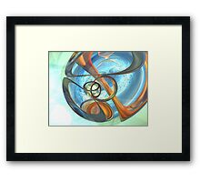 Tranquil Times Abstract Framed Print