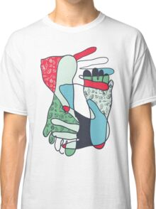 colorful foot and hand Classic T-Shirt