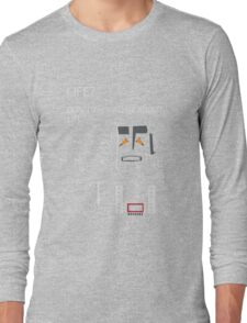 Marvin the Paranoid Android Long Sleeve T-Shirt