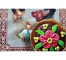 Easter cake   Photographic Print