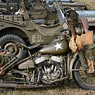 Harley-Davidson WLA Army Motorcycle by Frank Kletschkus