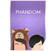 Phandom Poster (Purple) Poster