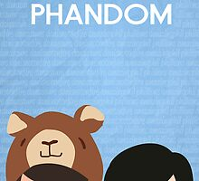 Phandom Poster (Blue) by EricaCookies