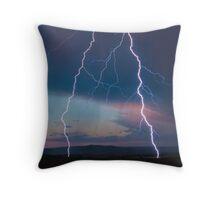 Lightning. Throw Pillow