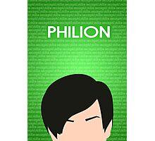 Philion Poster Photographic Print