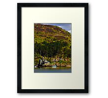 Coesfaen Lodge Barmouth Framed Print