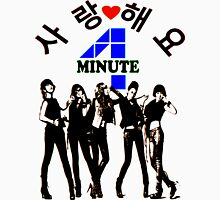 ㋡♥♫SaRangHaeYo(Love) Hot Fabulous K-Pop Girl Group-4Minute Clothing & Stickers♪♥㋡ Mens V-Neck T-Shirt