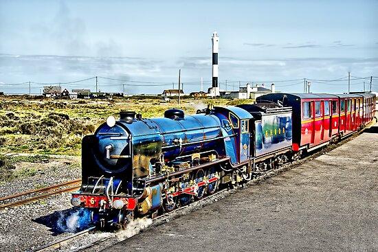 Romney Hythe and Dymchurch Railway by Chris Thaxter