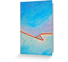 Snow and Sky Greeting Card