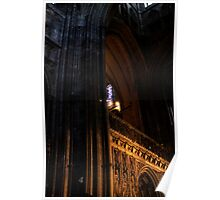 Canterbury Cathedral, United Kingdom Poster
