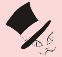 Cheshire Cat in the Hat Kids Tee