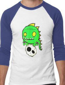 Dino Skull Men's Baseball ¾ T-Shirt