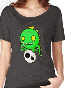 Dino Skull Women's Relaxed Fit T-Shirt