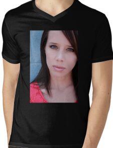 Molly Minter Mens V-Neck T-Shirt