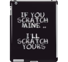 FATHERS DAY GIFT - THE BACKSCRATCHER KIT iPad Case/Skin